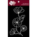 Zva Creative - Self Adhesive Pearls - Blooming - White