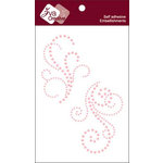 Zva Creative - Self-Adhesive Pearls - Lovely - Pink