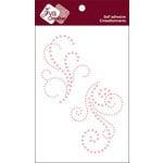 Zva Creative - Self-Adhesive Pearls - Lovely - Pink