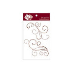Zva Creative - Self-Adhesive Pearls - Imposing - Taupe and Chocolate