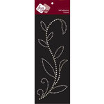 Zva Creative - Self-Adhesive Crystals - Leaved Branch - Rainy Vine - Clear, CLEARANCE