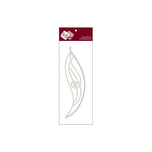 Zva Creative - Self-Adhesive Pearls - Lucky - Taupe