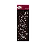 Zva Creative - Self-Adhesive Pearls - Flourish 5 - White