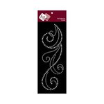 Zva Creative - Self-Adhesive Crystals - Flourish 6 - Clear