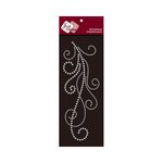 Zva Creative - Self-Adhesive Crystals - Flourish 7 - Clear