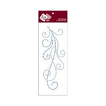 Zva Creative - Self-Adhesive Crystals - Flourish 7 - Ice Blue