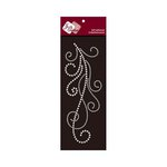 Zva Creative - Self-Adhesive Pearls - Flourish 7 - White