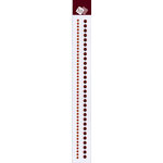 """Zva Creative - Self-Adhesive Crystals - 12"""""""""""""""" Round Double Chains - Chocolate, CLEARANCE"""