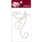 Zva Creative - Self-Adhesive Pearls - Flourish III - Taupe