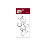 Zva Creative - Self-Adhesive Crystals - Flourish 4 - Smoke