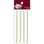 Zva Creative - Self-Adhesive Crystals - Basic Lines - .3 cm - Olive, CLEARANCE