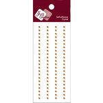 Zva Creative - Self-Adhesive Crystals - Basic Lines - .3 cm - Champagne, CLEARANCE