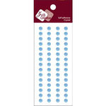 Zva Creative - Self-Adhesive Crystals - Basic Lines - .5 cm - Blue, CLEARANCE