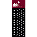 Zva Creative - Self-Adhesive Crystals - Dots - Clear