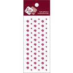 Zva Creative - Self-Adhesive Crystals - Dots - Rosy