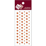 Zva Creative - Self-Adhesive Crystals - Dots - Orange