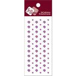 Zva Creative - Self-Adhesive Crystals - Dots - Lavender