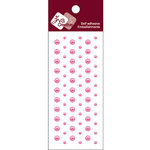 Zva Creative - Self-Adhesive Pearls - Dots - Rosy