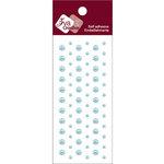 Zva Creative - Self-Adhesive Pearls - Dots - Soft Blue