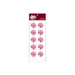 Zva Creative - Self-Adhesive Crystals - Dots 2 - Pink