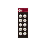 Zva Creative - Self-Adhesive Pearls - Dots 2 - White