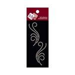 Zva Creative - Self-Adhesive Pearls - Small Symmetrical Flourishes 5 - White