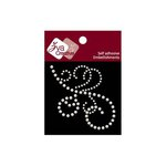 Zva Creative - Self-Adhesive Pearls - Flourish 14 - White