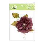 Zva Creative - Flower Embellishments - Bermuda Blooms - Auburn