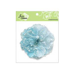 Zva Creative - Flower Embellishments - Key West Keepsakes - Soft Blue