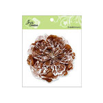Zva Creative - Flower Embellishments - Key West Keepsakes - Chestnut