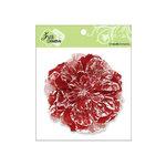 Zva Creative - Flower Embellishments - Key West Keepsakes - Scarlet
