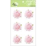 Zva Creative - Flower Embellishments - Galapagos Gardens - Pink