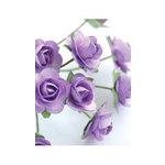 Zva Creative - 7/8 Inch Paper Roses - Bulk - Lavender, CLEARANCE