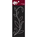 Zva Creative - Self-Adhesive Pearls - Leaved Branch - Rainy Vine - White, CLEARANCE