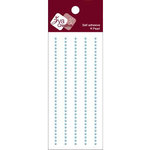 Zva Creative - Self-Adhesive Pearls - Basic Lines - .2 cm - Soft Blue, CLEARANCE