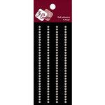 Zva Creative - Self-Adhesive Pearls - Small - Lines - White