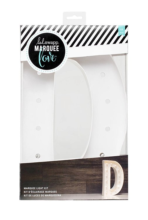 Heidi swapp marquee love letter d 12 inch marquee kit for Heidi swapp marquee letters 12 inch