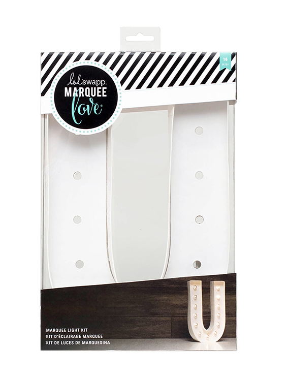 Heidi swapp marquee love letter u 12 inch marquee kit for Heidi swapp marquee letters 12 inch
