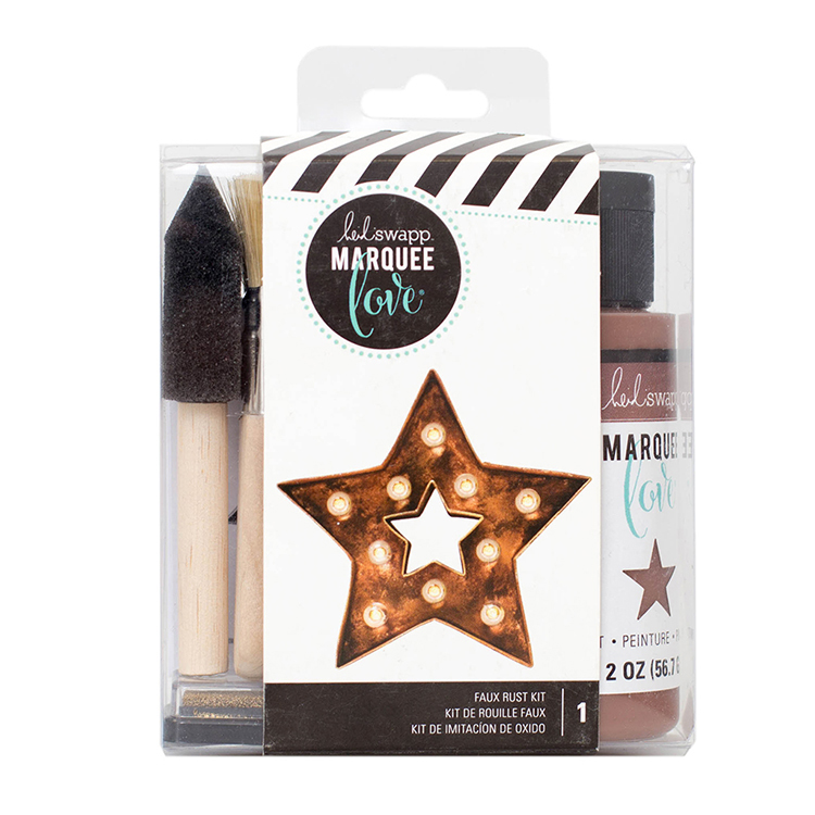 Heidi Swapp - Marquee Love Collection - Distress Paint Kit - Rust