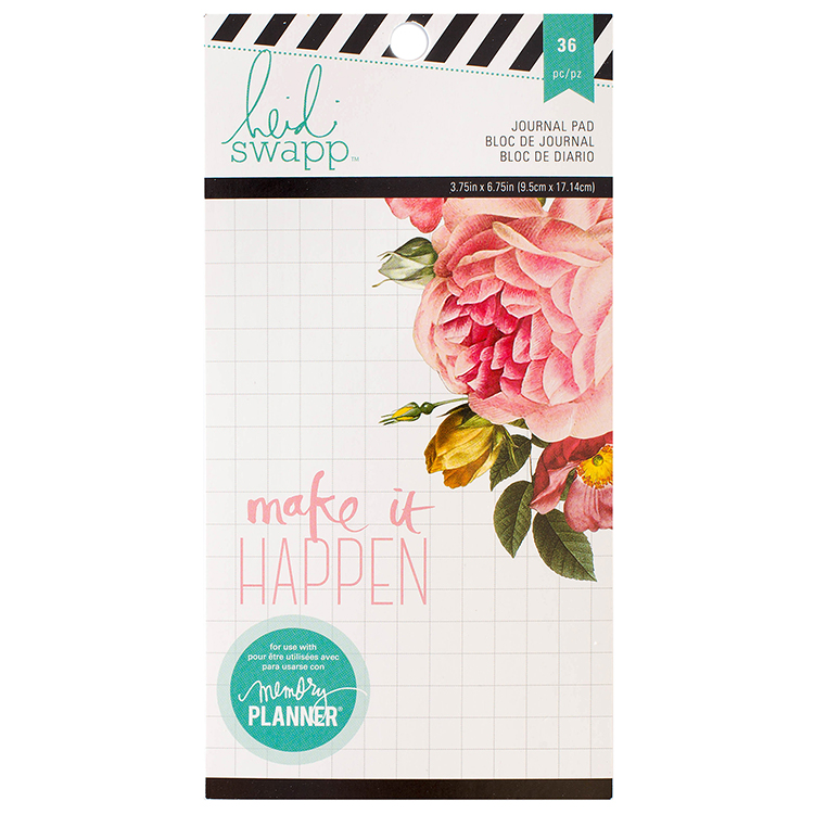 heidi swapp memory planner personal planner journal paper pad