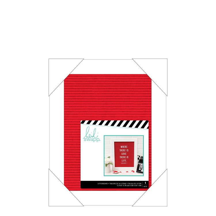 12x15 picture frame photo frame heidi swapp letterboard frame 12 15 red 12x15