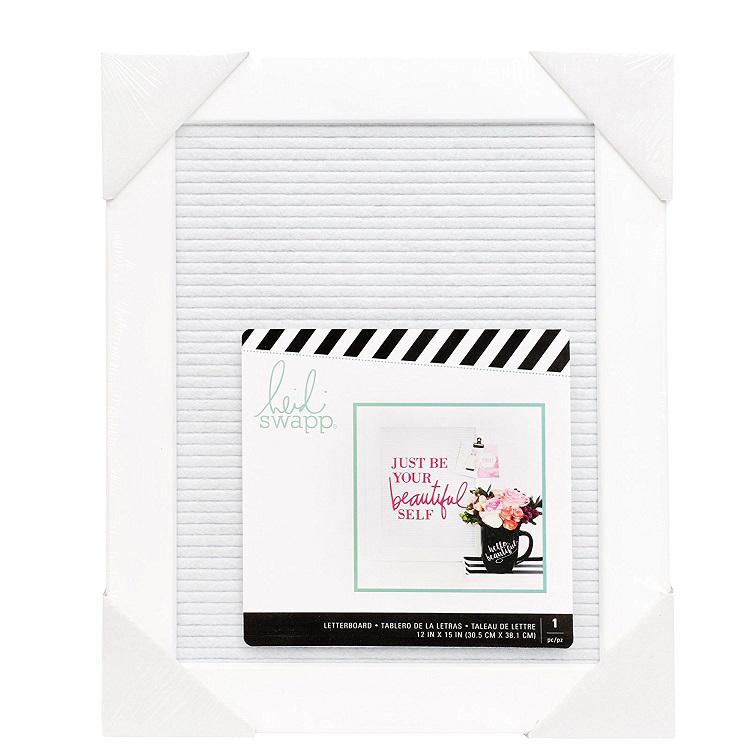 Heidi Swapp Letterboard 12x15 Medium Frame