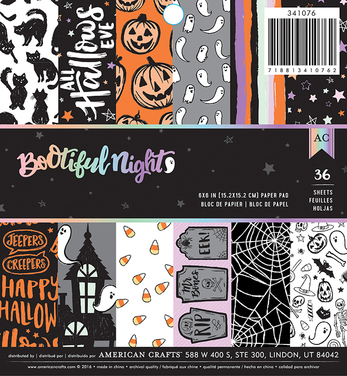 New Halloween Line Bootiful Night By American Crafts 2peas Refugees