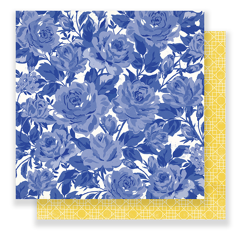 Crate paper flourish poetic paper crate paper flourish collection 12 x 12 double sided paper poetic mightylinksfo