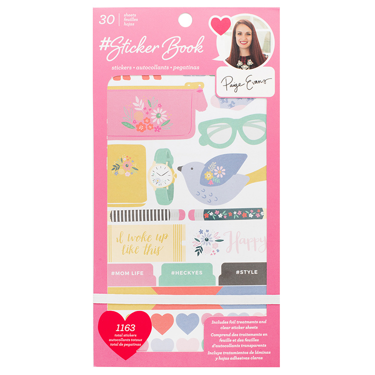 American Crafts - Paige Evans Sticker Book