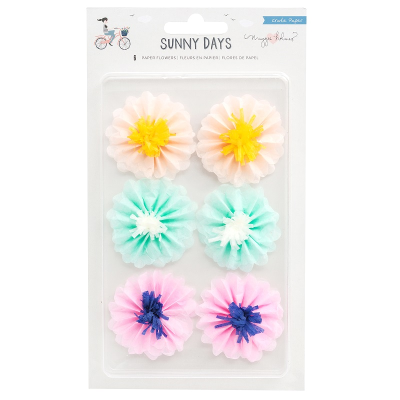 Crate Paper Sunny Days Paper Flowers