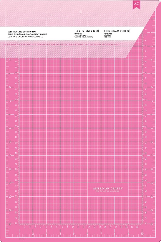 american crafts 11 x 17 double sided selfhealing cutting mat - Self Healing Cutting Mat