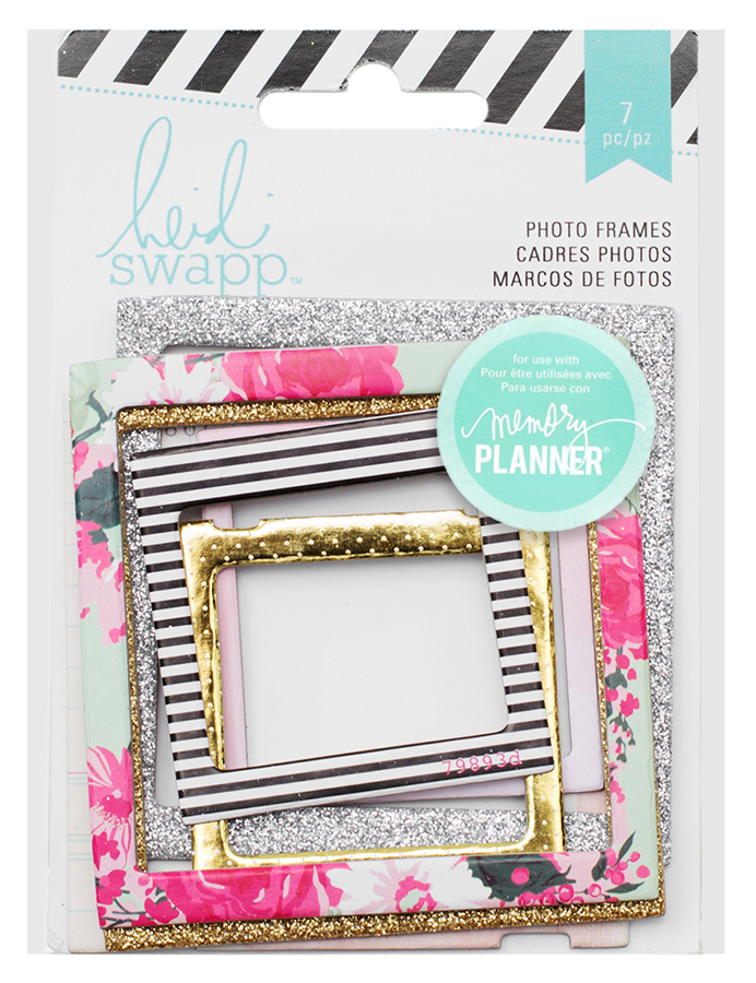 heidi swapp hello beautiful collection memory planner photo frames