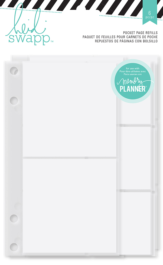 graphic regarding Planner Refills identify Heidi Swapp - Hi there Interesting Selection - Memory Planner - Pocket Webpage Refills