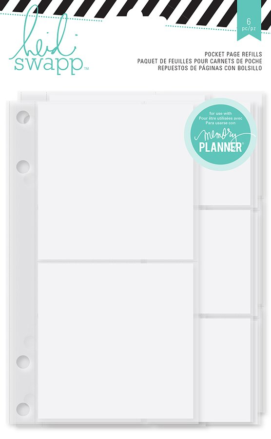 photo regarding Planner Refills named Heidi Swapp - Good day Attractive Variety - Memory Planner - Pocket Site Refills